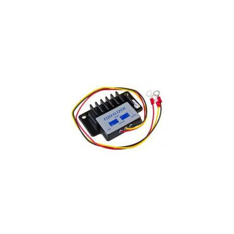 Vyrovnávač napětí pro 24v sestavy ze dvou 12v akumulátorů