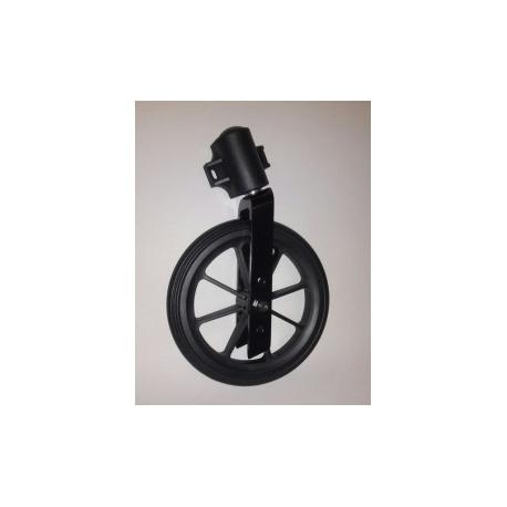 Set - kolečko pu - 200 x 25 (50) - černá - včetně vidlice a domečku