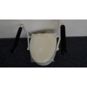 Nástavec na wc s opěrkami etac