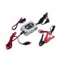Automatická nabíječka 6V/12V 1A pro olověné agm/gel akumulátory (1,2 - 24Ah)