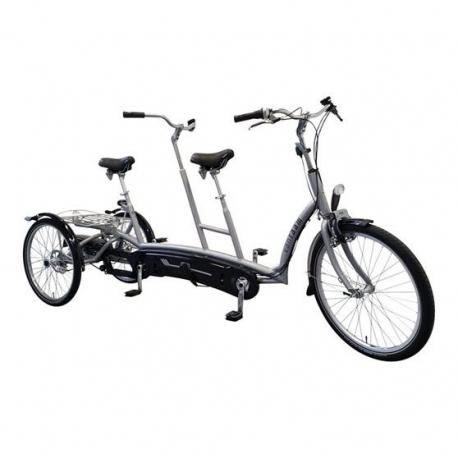 Tandemové kolo Van Raam Twinny Plus, s el. pohonem