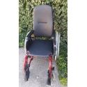 Mechanický invalidní vozík s pevnými zády, použitý