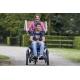 Kolo s invalidním vozíkem Van Raam Opair s elektropohonem