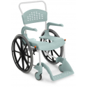 Sprchový a toaletní vozík etac s obručemi – použitý