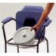 Pevná toaletní židle thuasne – nová